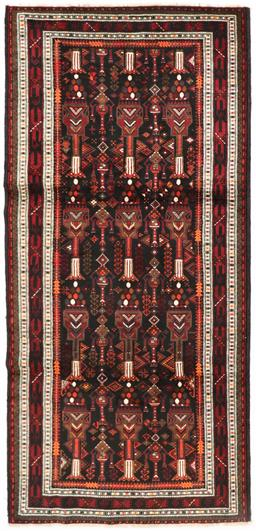 Sale 9181C - Lot 28 - Finely knotted north east Persian Turkmen all wool pictorial rug 300 x 140cm