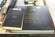 Sale 8362 - Lot 2479 - Album of his Masters Voice records and His Master Voice book
