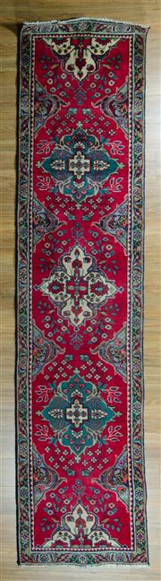 Sale 8617C - Lot 32 - Persian Kashan 325x75