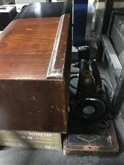Sale 8759 - Lot 2157 - Timber Cased Singer Sewing Machine