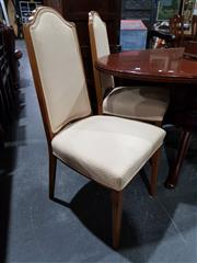 Sale 8760 - Lot 1058 - Set of Four Upholstered Dining Chairs