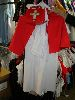 Sale 7490 - Lot 1252 - 2 WHITE NURSES COSTUMES - RED CAPES
