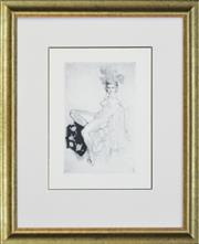 Sale 8257A - Lot 2 - Norman Lindsay (1878 - 1969) - Aloha 27 x 17.5cm