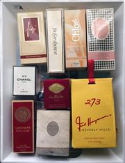 Sale 8369A - Lot 389A - A quantity of perfumes including Chanel, Chloe etc, some unopened