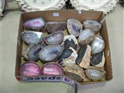 Sale 7972A - Lot 1043 - Box Agate Pairs