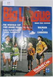 Sale 8418S - Lot 19 - 1984 GRAND FINAL 24th Sept 1989 Vo 70 No. 28 Balmain v Canberra