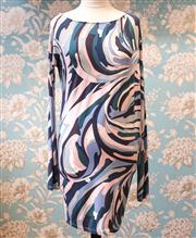 Sale 8474A - Lot 5 - A classic Emilio Pucci long sleeve dress, slightly worn (tiny mark on front), size 10