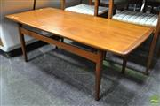 Sale 8511 - Lot 1021 - Danish Teak Coffee Table