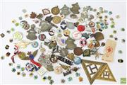 Sale 8603 - Lot 22 - Collection of Vintage Badges and Medals