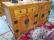 Sale 8889 - Lot 1027 - Chinese 4 Door 4 Drawer Sideboard