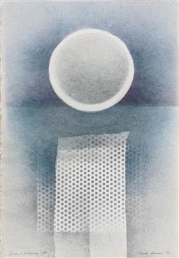 Sale 9257A - Lot 5014 - RUTH FAERBER (1922 - ) Silent Vibrations lithographs 77 x 51 cm (frame: 89 x 59 cm) signed lower right