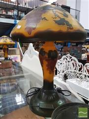 Sale 8455 - Lot 1086 - Galle Style Lamp