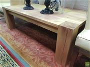 Sale 8637 - Lot 1033 - Timber Coffee Table (H: 45 x L: 139.5 x W 80cm)