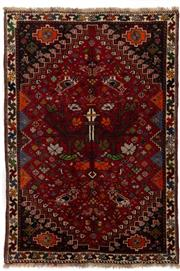 Sale 8790C - Lot 152 - A Persian Kashqai Shiraz 100%Wool Pile, 157 x 110cm