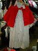 Sale 7490 - Lot 1256 - 2 WHITE NURSES COSTUMES – RED CAPES