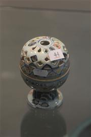 Sale 8047 - Lot 44 - Chinese Polychrome Censer