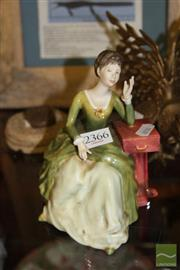 Sale 8236 - Lot 5 - Royal Doulton Figure Caroline