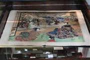 Sale 8264 - Lot 91 - Meiji Period Woodcut