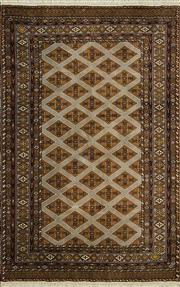 Sale 8345C - Lot 50 - Persian Turkman 190cm x 118cm