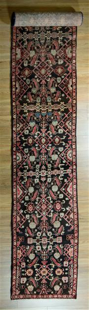 Sale 8617C - Lot 37 - Persian Saruq Runner 500x70
