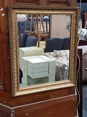 Sale 8697 - Lot 1088 - Small Gilt Framed Mirror