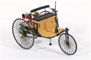 Sale 9003C - Lot 676 - Franklin Mint 1/8 scale 1886 Benz Patent Motorwagen model, boxed with certificate of authenticity