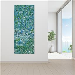 Sale 9171A - Lot 5008 - BELINDA GOLDER KNGWARREYE (1986 - ) Bush Plum Dreaming acrylic on canvas 200 x 81 cm (stretched and ready to hang) signed verso; cer...