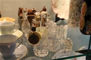 Sale 8112 - Lot 80 - Early French Perfume with Other Small Cut Glass & Crystal Wares