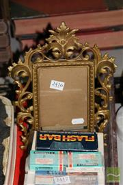 Sale 8236 - Lot 46 - Painted Metal Picture Frame