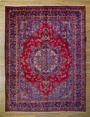 Sale 8559C - Lot 21 - Persian Mashad 390cm x 300cm