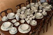 Sale 8510A - Lot 65 - A Noritake bone china dinner tea and coffee service in the Daphne pattern
