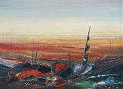 Sale 8907 - Lot 553 - Garth Tapper (1927 - 1999) - Desert Landscape 49 x 68.5 cm