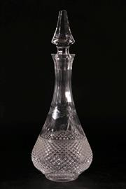 Sale 9010D - Lot 714 - A Stuart Cut Glass Decanter H: 38cm