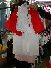 Sale 7490 - Lot 1257 - 2 WHITE NURSES COSTUMES – RED CAPES