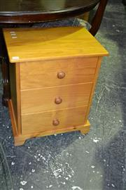 Sale 8093 - Lot 1564 - Pine Bedside Cabinet