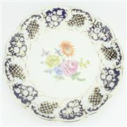 Sale 8264 - Lot 87 - Meissen 20th Century Prunkteller Dish