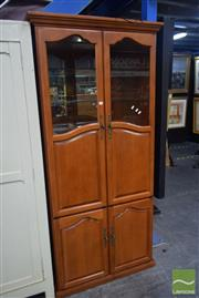 Sale 8550 - Lot 1264 - Timber Wall Unit