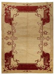 Sale 8790C - Lot 31 - An Afghan Chobi, Hand Spun In Naturally Dyed Wool, 302 x 222cm