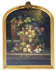 Sale 8973 - Lot 2007 - Artist Unknown Summer Harvestoil on canvas on board, 124 x 99cm (frame), unsigned