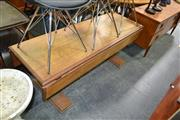 Sale 8115 - Lot 1474 - Oak Dropside Table On Carved Supports
