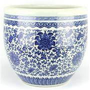 Sale 8244 - Lot 6 - Chien Lung Marked Blue & White Bowl