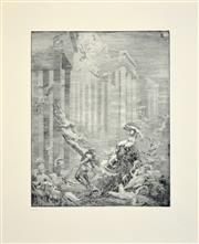 Sale 8257A - Lot 38 - Norman Lindsay (1878 - 1969) - Atlantis 31 x 25cm