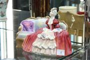Sale 8276 - Lot 4 - Royal Doulton Figure Belle O the Ball