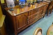 Sale 8550 - Lot 1533 - Timber Sideboard