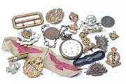 Sale 8670 - Lot 186 - Early Badges Including English Military