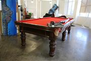 Sale 8825A - Lot 15 - 9ft regulation Pool Table (Heiron & Smith)