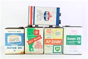 Sale 8855 - Lot 6 - Collection of Vintage Oil Cans