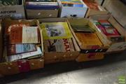 Sale 8530 - Lot 2289 - 4 Boxes of Various Booklets incl. Irvin, E. Early Inland Agriculture; The Church St. Thomas; N.S.W.; etc