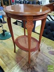 Sale 8550 - Lot 1480 - Timber Side Table