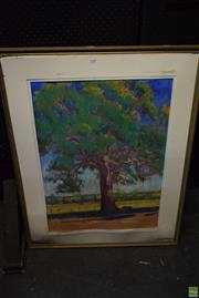 Sale 8569 - Lot 2081 - Pata Pastel The Old Tree